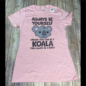 Next Level Apparel Koala  T-Shirt EUC